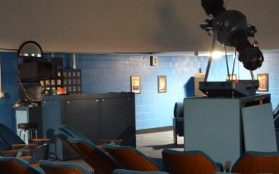 Community Knights GIFT Grants Kickstarts Funding for the Renovation of Jones Magnet Middle School's Planetarium