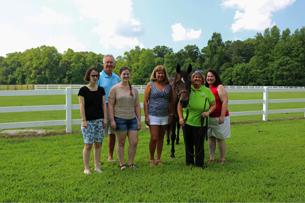 Funding Therapeutic Support Through a Velvet-Eyed Horse